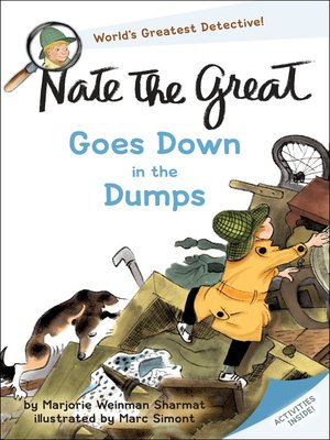 cover image of Nate the Great Goes Down in the Dumps