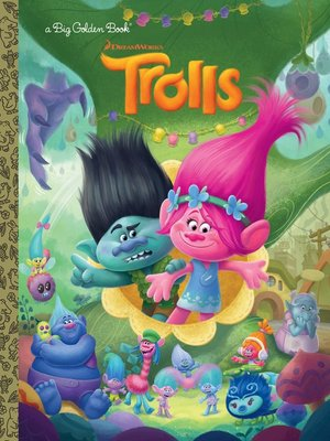 cover image of Trolls Big Golden Book