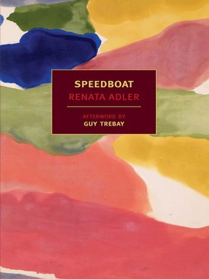 cover image of Speedboat