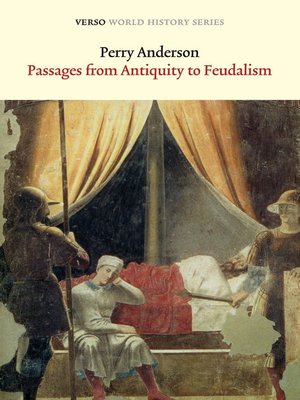 cover image of Passages from Antiquity to Feudalism