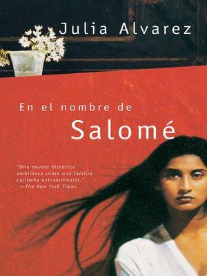 cover image of En el nombre de Salomé