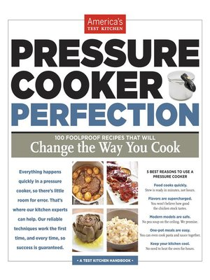 cover image of Pressure Cooker Perfection