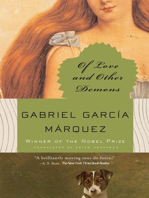 cover image of Of Love and Other Demons
