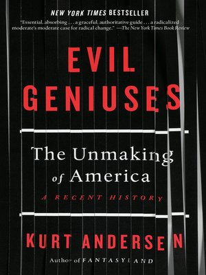 cover image of Evil Geniuses