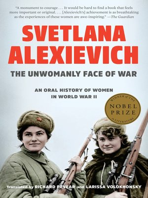 cover image of The Unwomanly Face of War