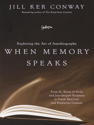 cover image of When Memory Speaks