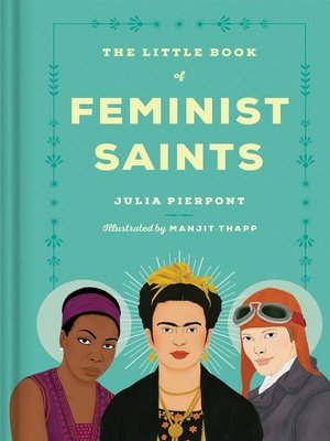 cover image of The Little Book of Feminist Saints