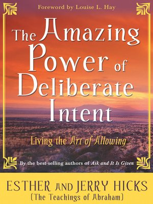 cover image of The Amazing Power of Deliberate Intent