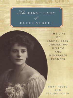 cover image of The First Lady of Fleet Street
