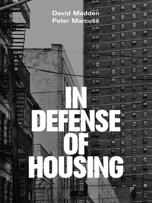 cover image of In Defense of Housing