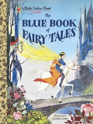 cover image of The Blue Book of Fairy Tales