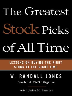 cover image of The Greatest Stock Picks of All Time