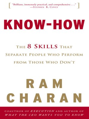 cover image of Know-How