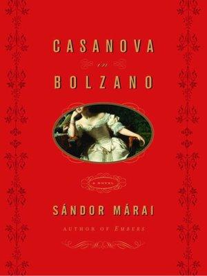 cover image of Casanova in Bolzano