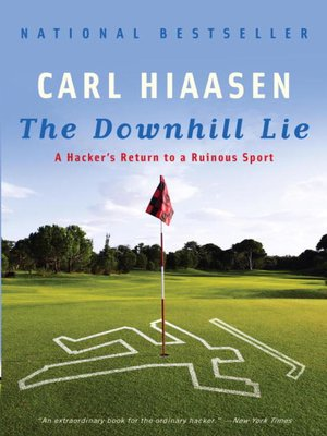 cover image of The Downhill Lie
