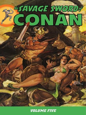 cover image of Savage Sword of Conan, Volume 5