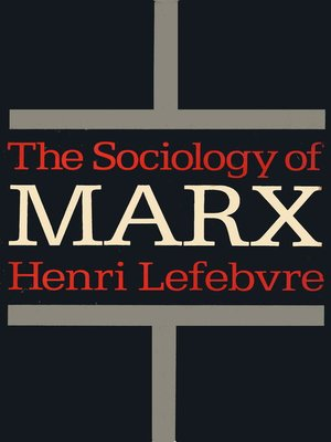 cover image of The Sociology of Marx