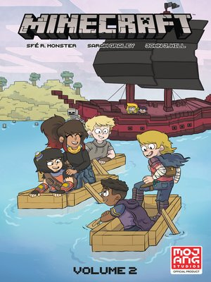 cover image of Minecraft Volume 2 (Graphic Novel)