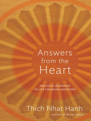 cover image of Answers from the Heart