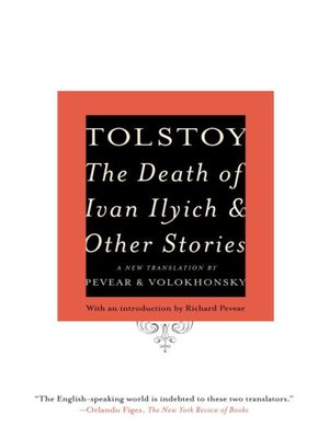 cover image of The Death of Ivan Ilyich and Other Stories