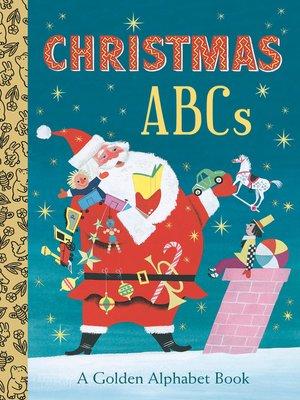cover image of Christmas ABCs