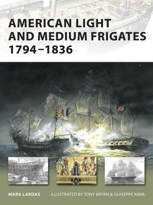 cover image of American Light and Medium Frigates 1794-1836