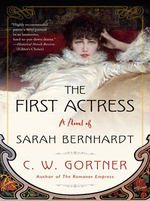 The First Actress Book Cover