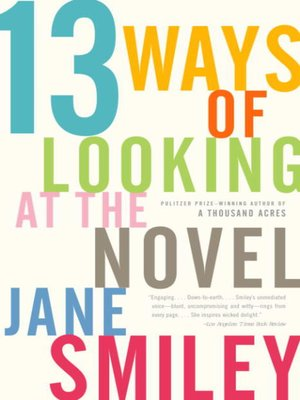 cover image of 13 Ways of Looking at the Novel
