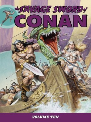 cover image of The Savage Sword of Conan, Volume 10
