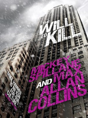 cover image of The Will to Kill