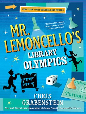 cover image of Mr. Lemoncello's Library Olympics