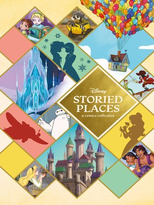 cover image of Disney Storied Places