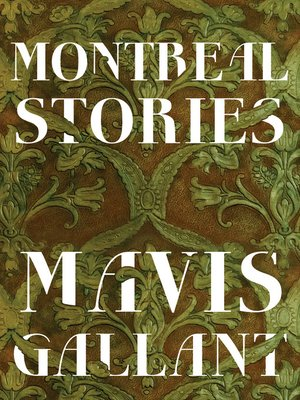 cover image of Montreal Stories