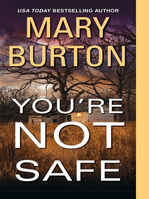 cover image of You're Not Safe