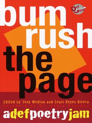 cover image of Bum Rush the Page