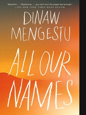 cover image of All Our Names
