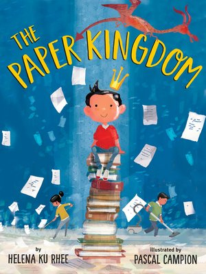 cover image of The Paper Kingdom