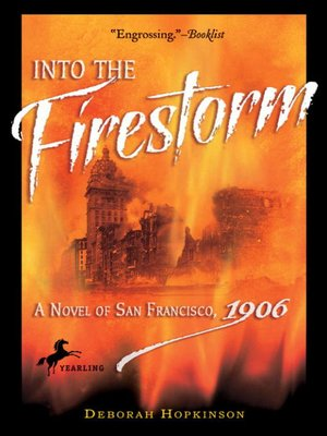 cover image of Into the Firestorm