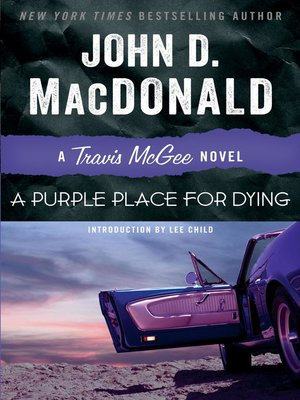 cover image of A Purple Place for Dying