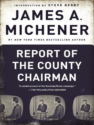 cover image of Report of the County Chairman