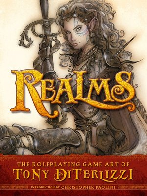 cover image of Realms: The Roleplaying Art of Tony DiTerlizzi