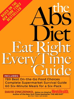 cover image of The Abs Diet Eat Right Every Time Guide