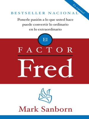 cover image of El factor Fred