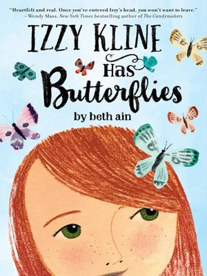 cover image of Izzy Kline Has Butterflies