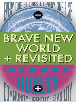 cover image of Brave New World and Brave New World Revisited