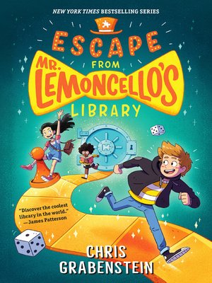 cover image of Escape from Mr. Lemoncello's Library