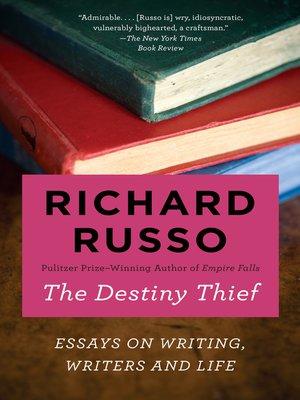 cover image of The Destiny Thief