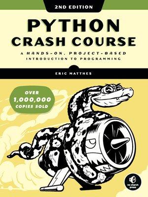 cover image of Python Crash Course