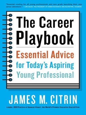 cover image of The Career Playbook
