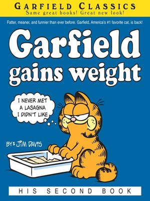 cover image of Garfield Gains Weight